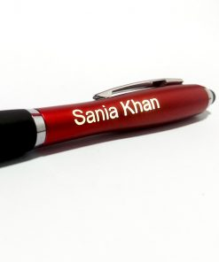 Customised Stylus Light Pen with name is best online gift & present