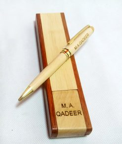 Personalized Luxury Wooden Pen with name engraved is best birthday gifft, anniversary gift, wedding gift or gift for husband