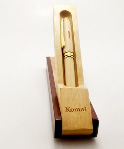 Customised Luxury Wooden Pen with name is best gift for birthday, anniversary, wedding or husband