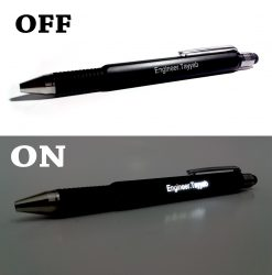 Personalized Engineering Light Pen with glowing name printed from Penhouse is best online gift & present