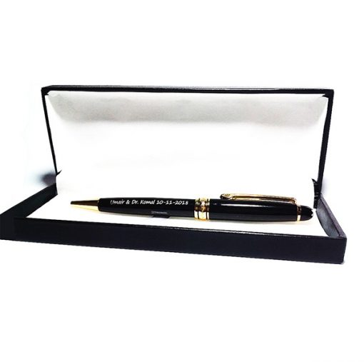 Jitter Black Pen packaged in luxury black box is best birthday gift, anniversary gift, wedding gift or gift for husband