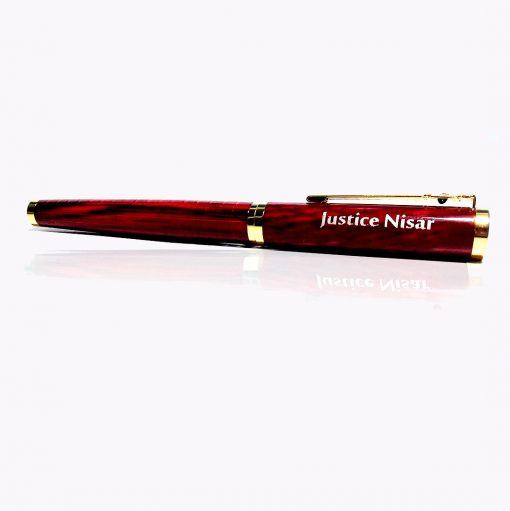 Crocodile Texture Fountain Pen with custom name printed from penhouse