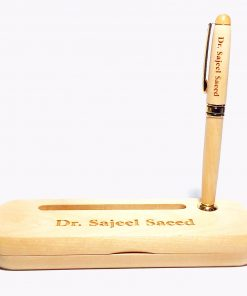 Customised Executive Wooden Pen with name printed is best online gift & present