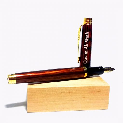 Custommised Wingstrip Fountain Pen with name printed is best online gift & present