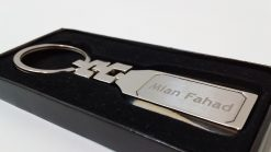 Chain Metallic Keychain in luxury box is best birthday gift, anniversary gift, wedding gift or gift for husband