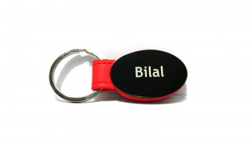 Red Strap Metallic Keychain with vivid colors from Penhouse looks very nice and is best gift to give