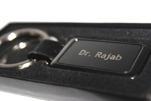 Personalized Double Ring Metallic Keychain is best online gift & present