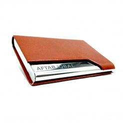 One Sided Leather card holder with customised name is best online gift & Present