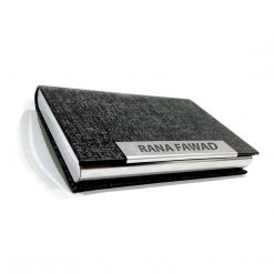 Custom name Luxury Leather Card Holder best online gift & present from Penhouse