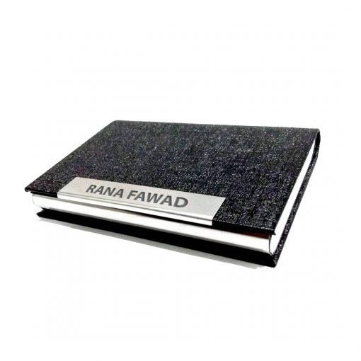 Luxury Leather Card Holder with name printed is best gift for your loved ones to give on birthday, anniversary or wedding