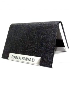 Personalized Luxury Leather Card Holder with name printed is best for birthday gift, anniversary gift, wedding gifts or gift for husband