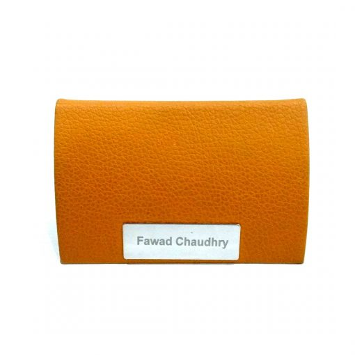 Professional Leather card holder with personalized name is best online gift & present