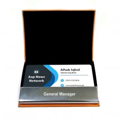Customised name Professional Leather card holder from penhouse holds many card