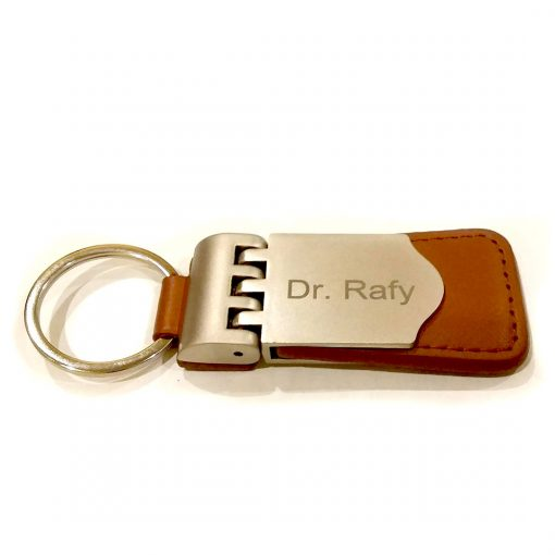 Key Blaster keychain with name engraved from Penhosue is best online gift & presetn